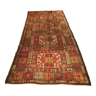 "Antique Bellwether Rugs Turkish Oushak Runner - 4'1""x8'8"""