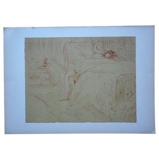 """Toulouse Lautrec """"Elles/Women"""" Vintage Lithograph"""