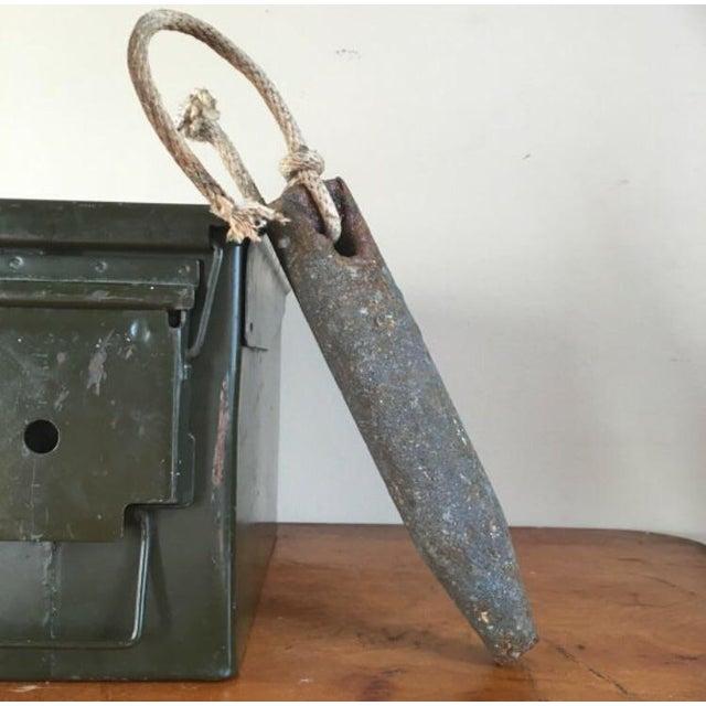 Antique Iron Window Weight - Image 2 of 6
