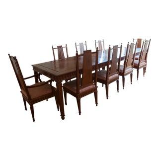 Vintage Solid Rosewood Dining Set