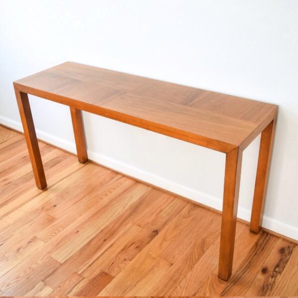 Mid Century Vintage Lane Sofa Console Table   Image 2 Of 9