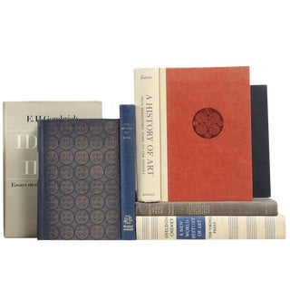 Mid-Twentieth Century Art Theory Books - Set of 7