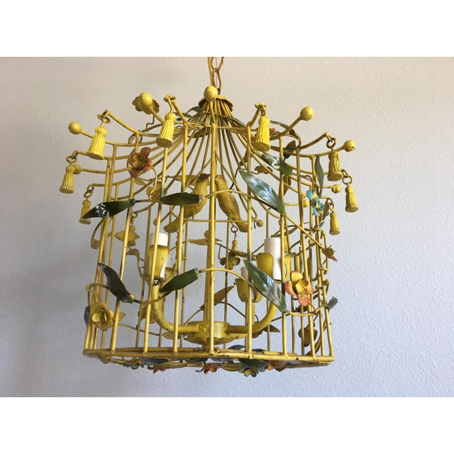 Italian Birdcage Chandelier - Image 2 of 8