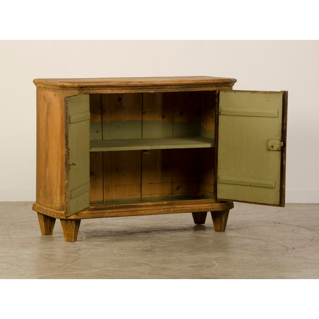 Antique German Neoclassical Bas d'Armoire or Buffet, Original Paint, circa 1780 - Image 5 of 10