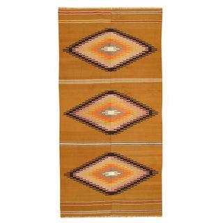"Apadana - Navajo Style Kilim Rug - 5'5""x11'2"""