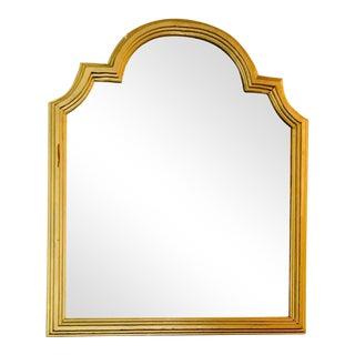 Vintage Italian Regency Style Gold Mirror