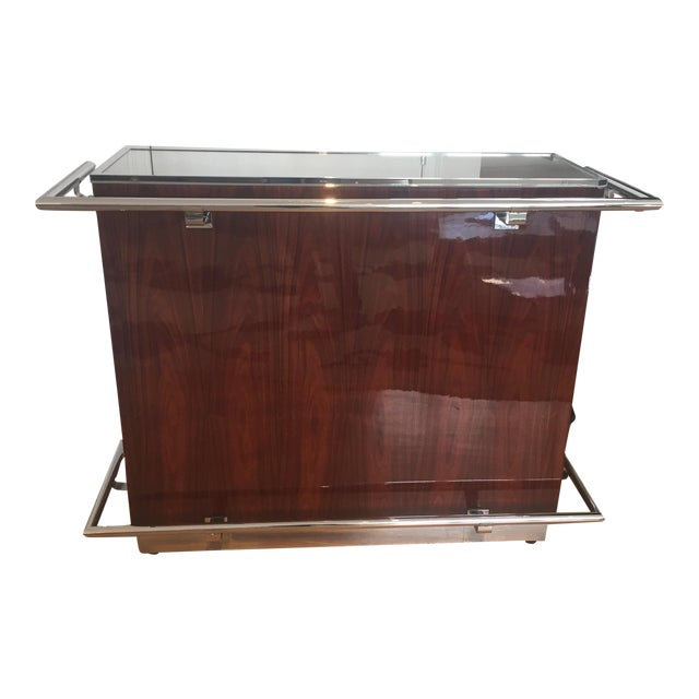 1938 Art Deco Serving Bar - Image 1 of 7