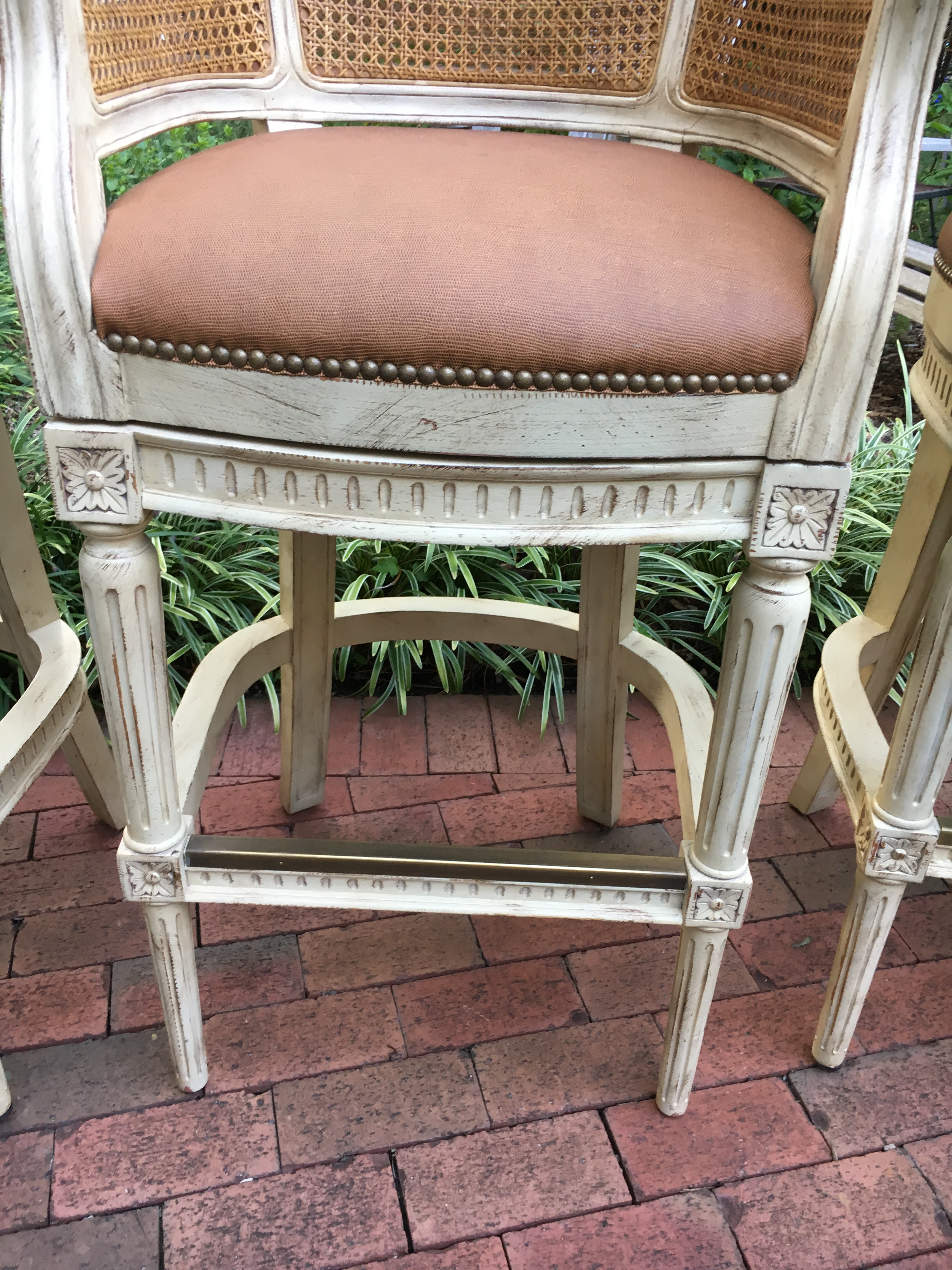 4 Swivel Bar Stools By Pama Of High Point, Nc   Image 4 Of 10 Part 56