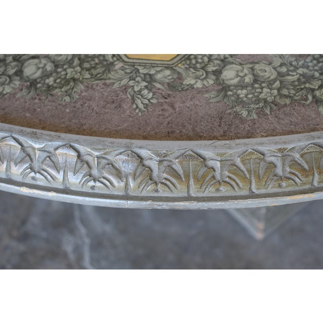 Acanthus Carved Italian Coffee Table - Image 7 of 9