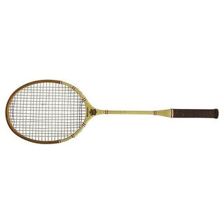 Yellow Regal Badminton Racket
