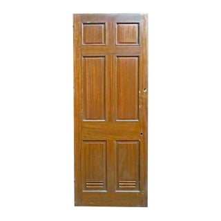 Reclaimed Antique Mahogany Veneer Door