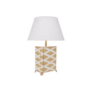 Parthenon in Taupe Lamp