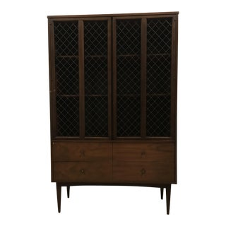 Mid-Century Dixie Furniture Display Cabinet