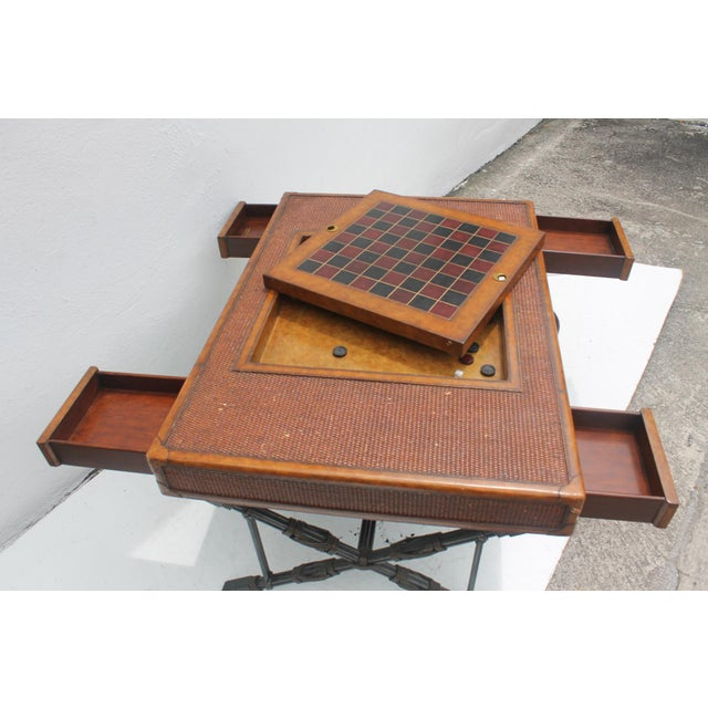 Maitland Smith X Base Game Coffee Table Chairish