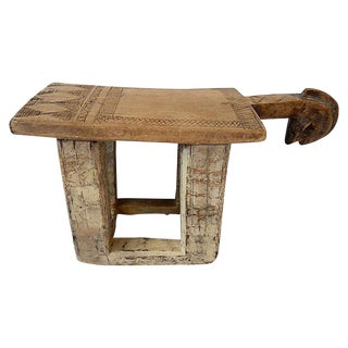 Old Lobi African Burkina Faso Stool