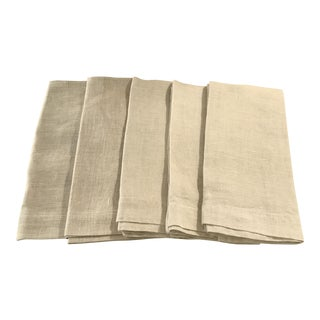 Linen Dinner Napkins - Set of 5