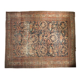 "Antique Mustafi Mahal Carpet - 10'8"" x 12'11"""