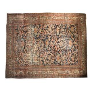 "Antique Mustafi Mahal Carpet - 10'8"" x 12'11"""