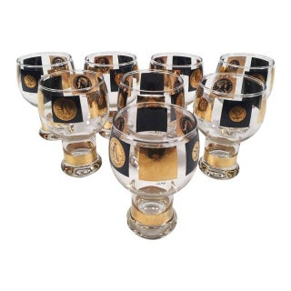 Fostoria Coin Glassware - Set of 8