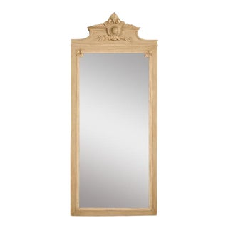 Circa 1890 French Painted Mirror