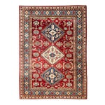"""Image of New Traditional Hand Knotted Area Rug - 5'3"""" x 6'7"""""""