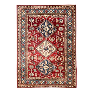 """New Traditional Hand Knotted Area Rug - 5'3"""" x 6'7"""""""