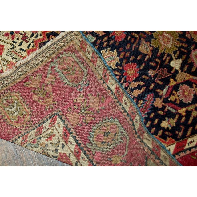 1880s Antique Hand Made Caucasian Karabagh Rug- 4′6″ × 11′7″ - Image 3 of 10