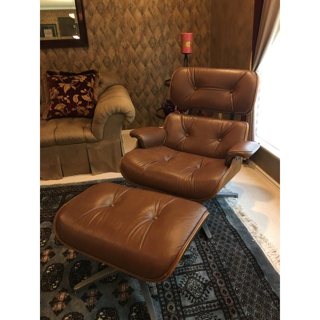 Image of 1960 Segal Reproduction of Eames Lounge Chair