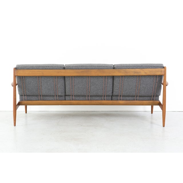 Grete Jalk for France + Daverkosen Teak Wood Sofa - Image 4 of 10