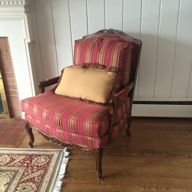 Image of Custom Thomasville Patriarch Chairs - A Pair