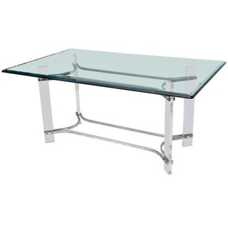 Lucite Dining Table