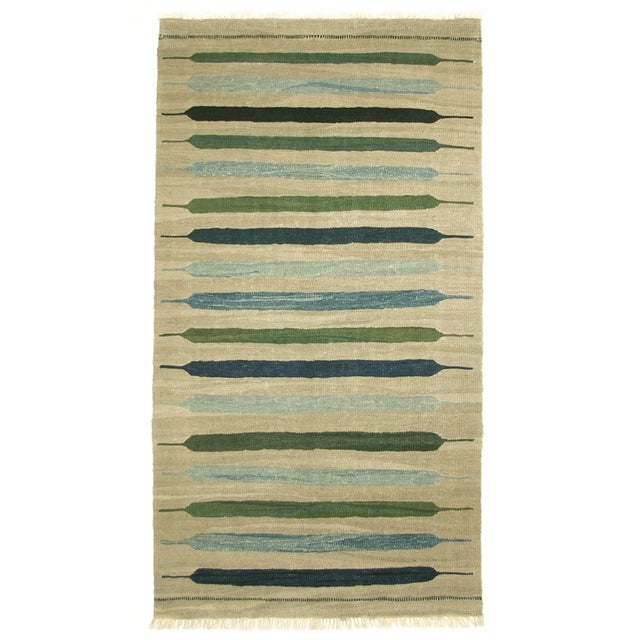 "Contemporary Rug & Relic Kilim - 3'5"" X 6'5"" - Image 1 of 3"