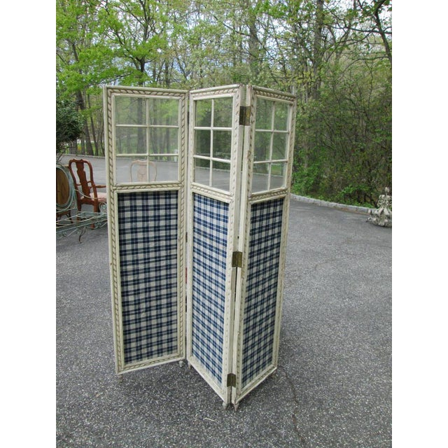Farmhouse 3 Panel Screen Room Divider - Image 6 of 6
