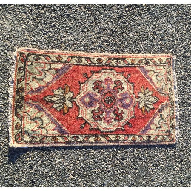 Anatolian Persian Rug - 1′7″ × 2′11″ - Image 2 of 9
