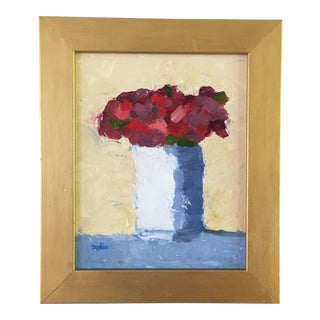 Red Roses Still Life Oil Painting