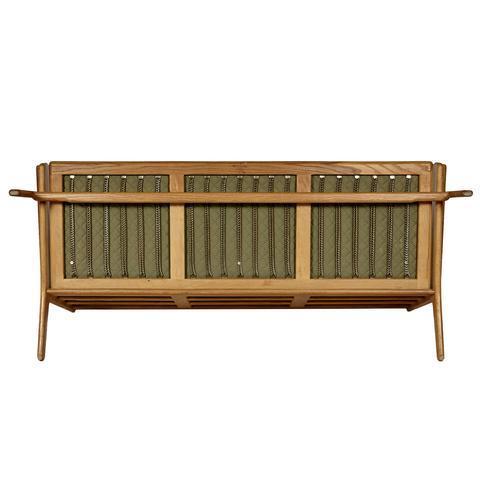 Hans J. Wegner for GETAMA Three Seat Sofa in Oak GE 290 - Image 5 of 10