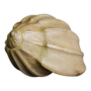 Sarreid Hand-Carved Wooden Shell