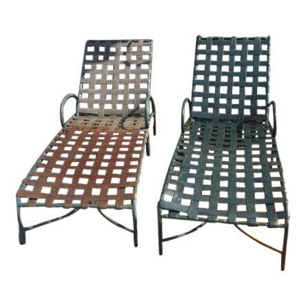 Brown Jordan Lounge Chairs A Pair Chairish