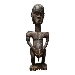 Ivorian Wooden Sculpture of a Man