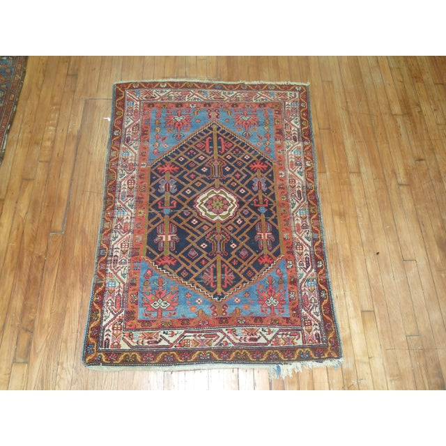 Vintage Persian Malayer Rug 3 4 Quot X 4 9 Quot Chairish