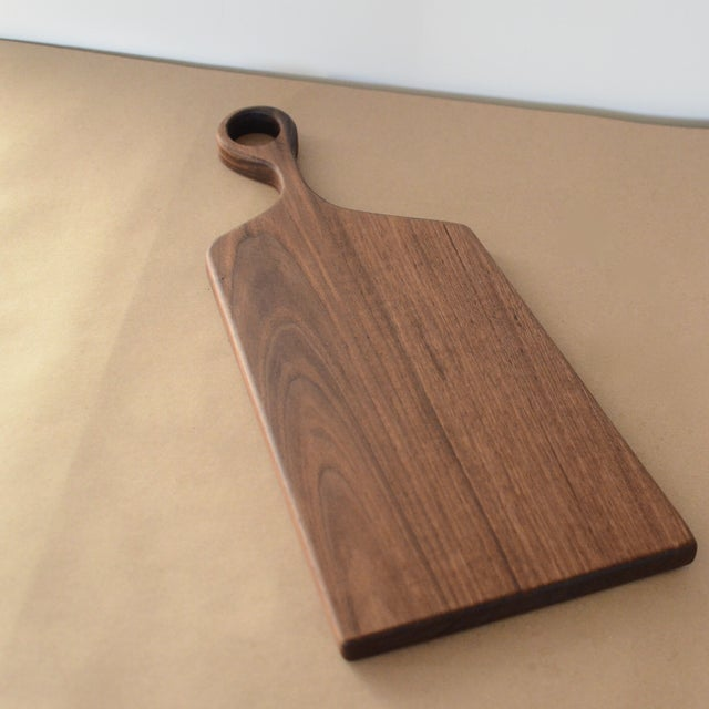 Large Handmade Walnut Asymmetrical Board - Image 2 of 6