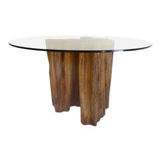 Sculptural Amazon Guaranta Table Base from Brazilian Artist Valeria Totti
