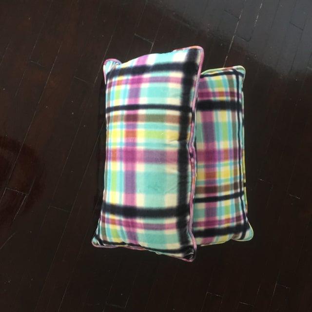Image of Elitis Velvet Lumbar Pillows - A Pair