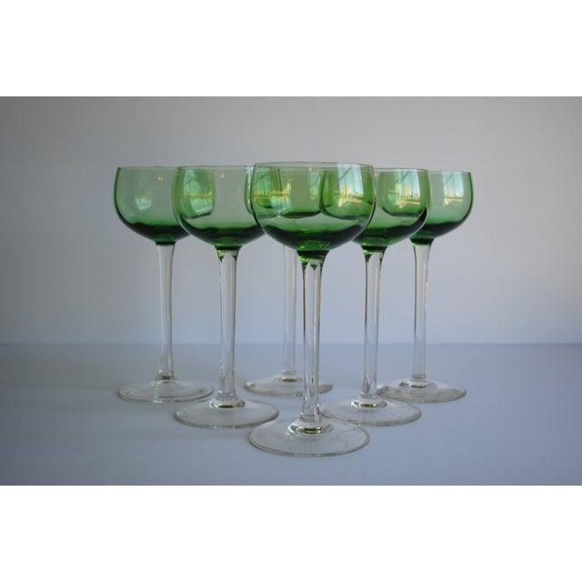 Image of Vintage Cocktail Glasses - Set of 6