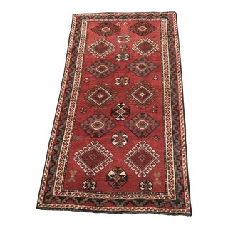 Vintage Persian Shiraz Small Area Rug - 5' x 9'