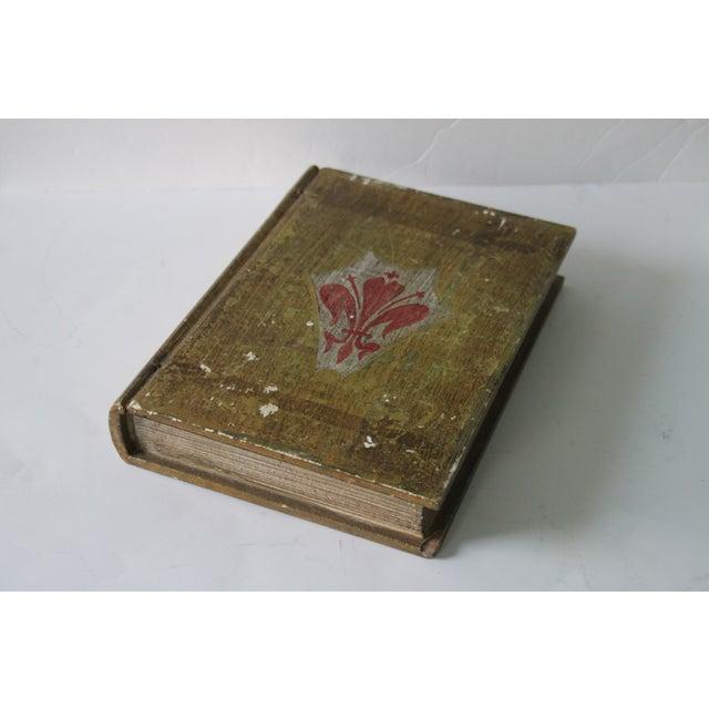 Florentine Fleur De Lis Book Box - Image 2 of 8
