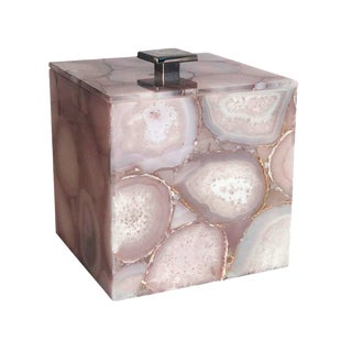 Natural Agate Ice Bucket