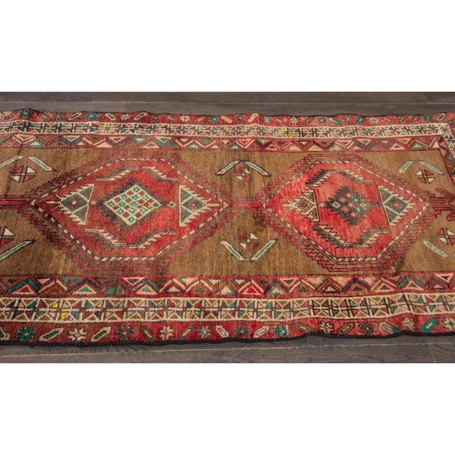 "Apadana Vintage Hand Knotted Persian Rug - 3'5"" X 7'2"" - Image 3 of 7"