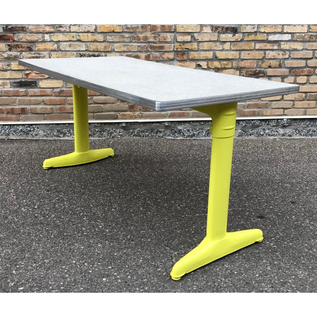 Vintage Industrial American Seating Co. Dining Table - Image 6 of 11
