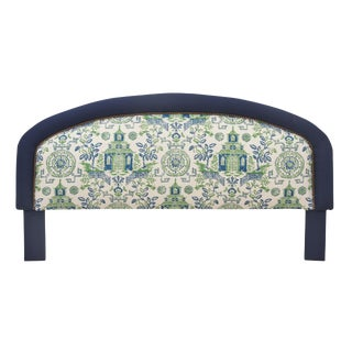 King Size Chinoiserie Style Headboard